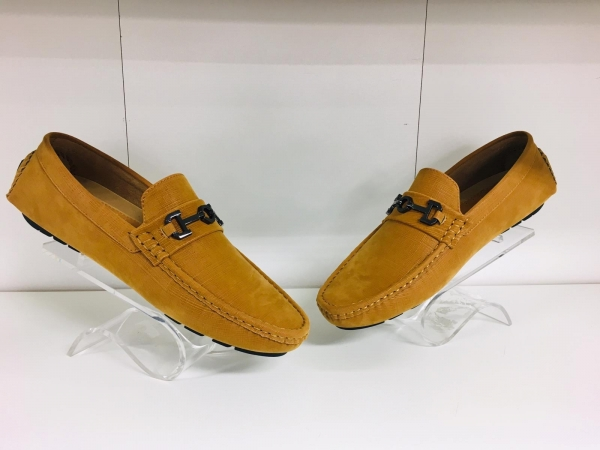 Camel Loafer Shoes