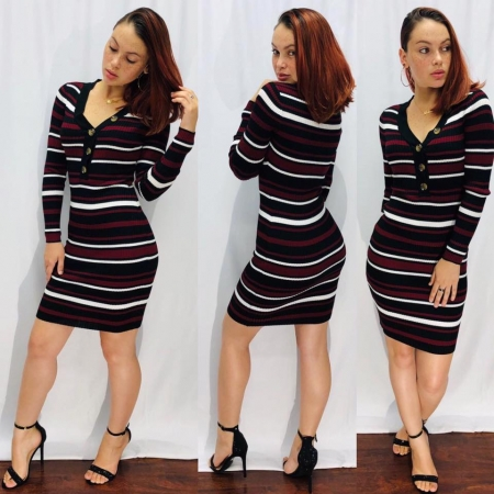 Longsleeve Short Dress