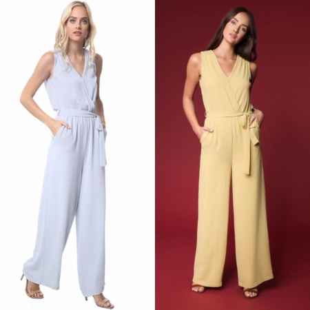 Shortsleeve Jumpsuit